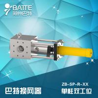 单柱双工位液压换网器